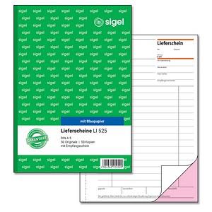 SIGEL Formularbuch LI525 Lieferschein mit Empfangsschein