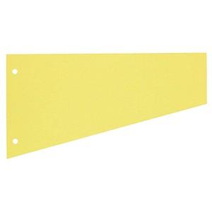 100 herlitz Trennstreifen gelb