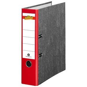 office discount Ordner rot marmoriert Karton 8,0 cm DIN A4