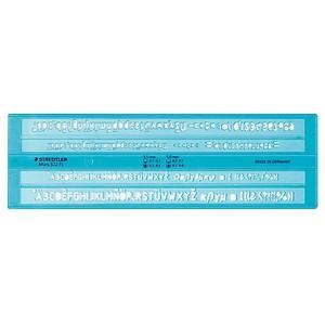 Schriftschablone Mars® 572 FL von STAEDTLER