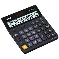 Casio® Solar-Tischrechner DH-12TER