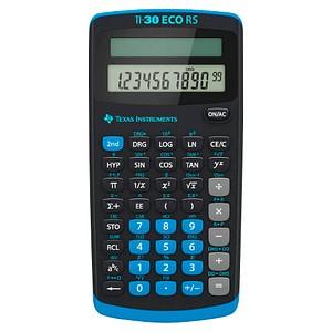 TEXAS INSTRUMENTS TI-30 ECO RS Wissenschaftlicher Taschenrechner schwarz/blau