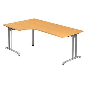 HAMMERBACHER Altus Schreibtisch buche L-Form