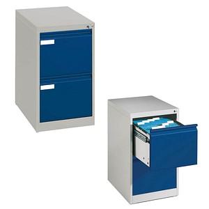 CP C 2000 Acurado Hängeregistraturschrank blau/grau 2 Schubladen