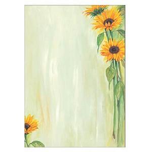Motivpapier Sunflower von sigel