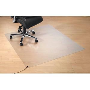 Transstat Bodenschutzmatte für glatte Böden rechteckig, 120,0 x 130,0 cm