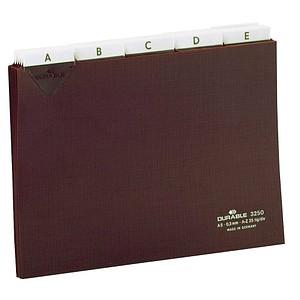 DURABLE Karteikartenregister   A-Z, blanko, Jan.-Dez., 0-31 braun