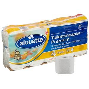 Alouette Toilettenpapier Premium 4 Lagig Gunstig Online Kaufen Office Discount