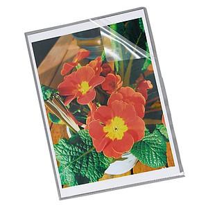 100 Esselte Sichthüllen 23823 transparent genarbt DIN A4