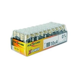 Batterien X-POWER von ANSMANN