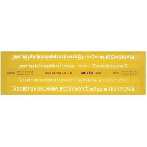Schriftschablone  von ARISTO