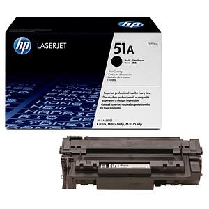 HP 51A (Q7551A) schwarz Tonerkartusche