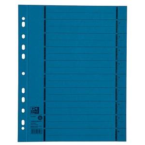 100 OXFORD Trennblätter blau