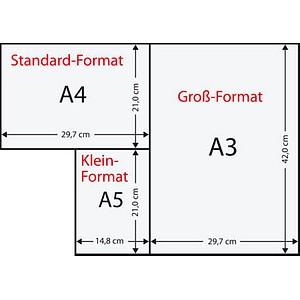 Rainbow Kopierpapier COLOURED PAPER intensivrot DIN A4 80 g/qm 500 Blatt