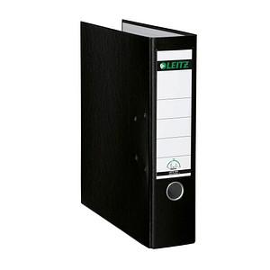 LEITZ 1010 Ordner schwarz Kunststoff 8,0 cm DIN A4