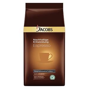 JACOBS Nachhaltige Entwicklung Espressobohnen 1,0 kg