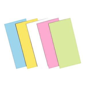 Moderationskarten farbsortiert 20,0 x 10,0 cm