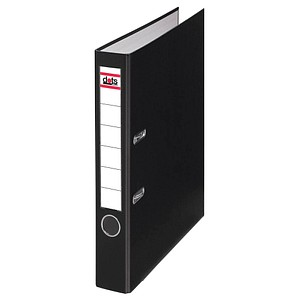 dots Ordner schwarz Kunststoff 5,0 cm DIN A4