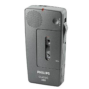 analoges Diktiergerät Pocket Memo 388 von PHILIPS