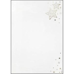 Weihnachtsbriefpapier Golden Glow von SIGEL