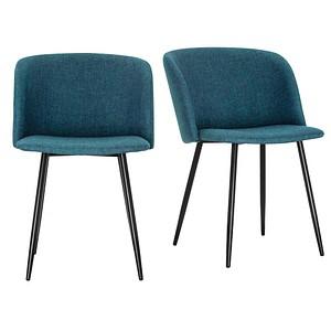 2 PAPERFLOW MUST Besucherstühle blau