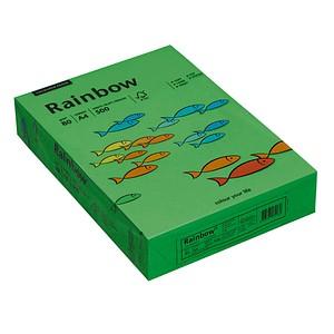 Rainbow Kopierpapier COLOURED PAPER intensivgrün DIN A4 80 g/qm 500 Blatt