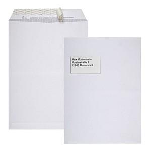 BONG Versandtaschen TopSTAR DIN C4 mit Fenster weiß 250 St.