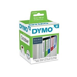 110 DYMO Etiketten S0722480 weiß