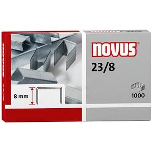 1.000 novus Heftklammern 23/8