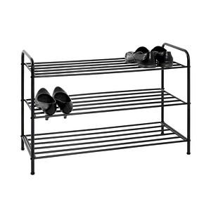HAKU Möbel   Schuhregal schwarz 3 Fachböden