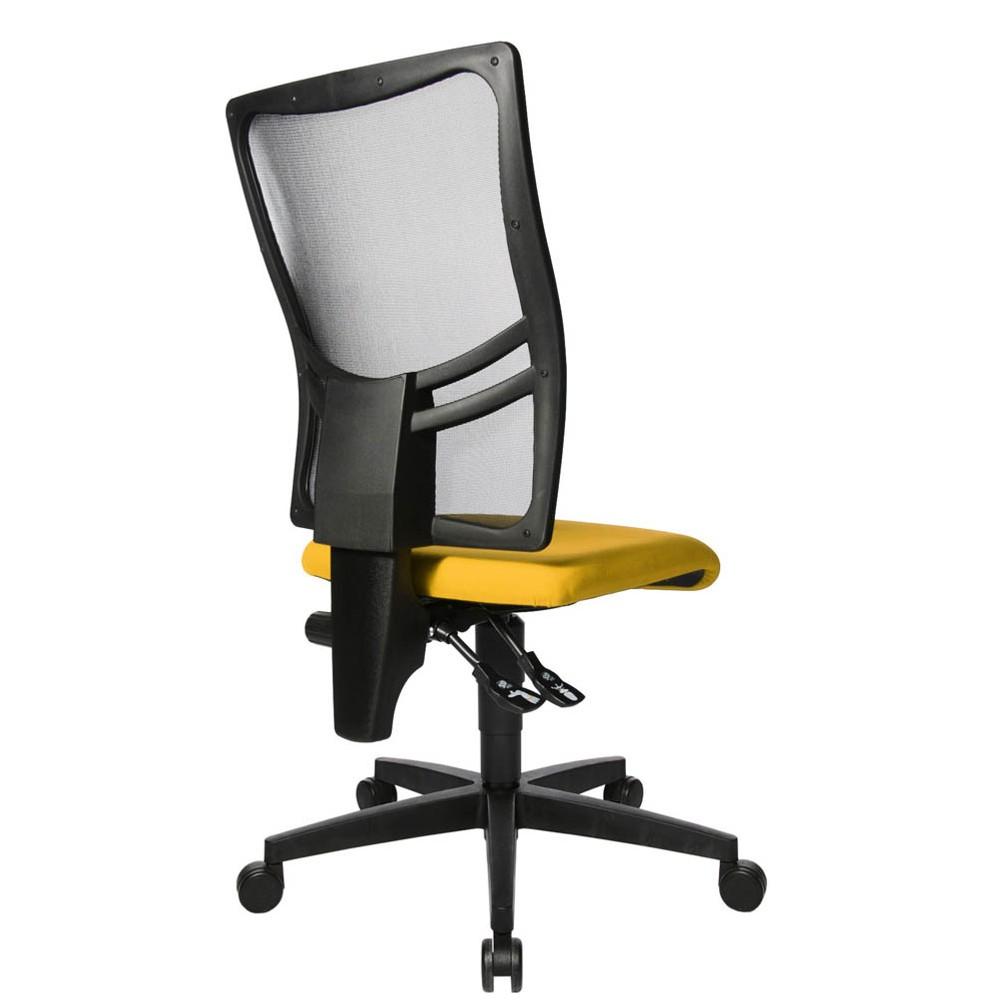 Topstar Net Point 10 Bürostuhl gelb günstig online kaufen