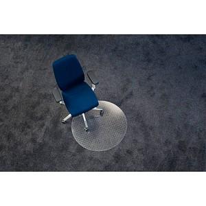 ecogrip ® Bodenschutzmatte für Teppichböden rund, 60,0 x 60,0 cm