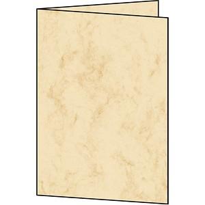 Faltkarten Marmor von SIGEL