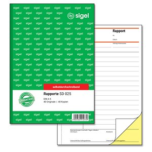 SIGEL Formularbuch SD025 Rapport