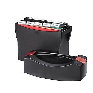 HAN Hängeregistraturbox ohne Mappen Swing schwarz mit Deckel für 20 Hängemappen oder 3 schmale Ordner