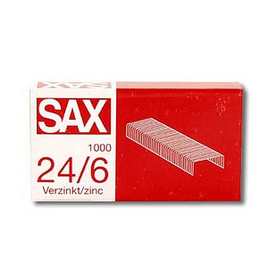 Heftklammern 24/6 von sax design