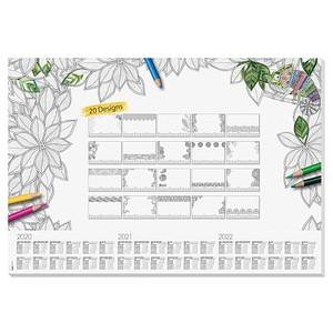 SIGEL Schreibtischunterlage Adult Coloring 20 Blatt