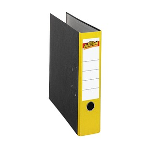 office discount Ordner gelb marmoriert Karton 8,0 cm DIN A4