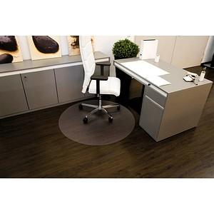 Rollt & Schützt Bodenschutzmatte für glatte Böden rund, 90,0 x 90,0 cm
