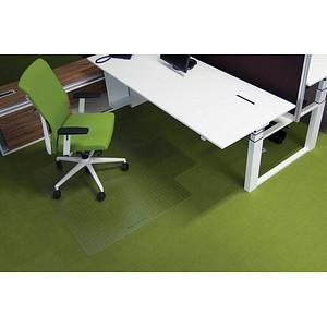 ecogrip ® Bodenschutzmatte für Teppichböden rechteckig mit Lippe kurze Seite, 120,0 x 130,0 cm
