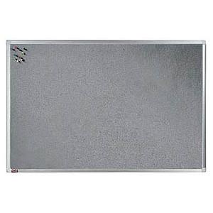 dots Pinnwand 90,0 x 60,0 cm Textil grau