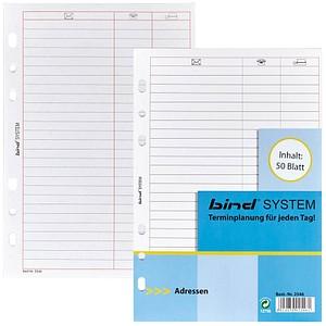 Ringbuch-Ergänzungsblätter  von bind