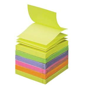Post-it® Z-Notes Haftnotizen Standard R330NR farbsortiert 6 Blöcke