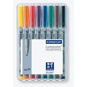 STAEDTLER Lumocolor Folienstifte-Set farbsortiert non-permanent 8 St.