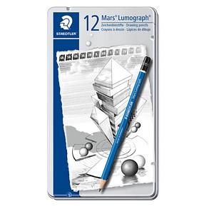 Bleistifte Mars Lumograph 100 von STAEDTLER