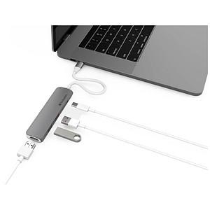 passiver Hub USB-C Hub mit HDMI von Verbatim