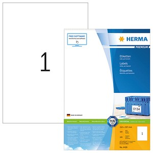 Universaletiketten  von HERMA