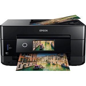 EPSON Expression Premium XP-7100 3 in 1 Tintenstrahl-Multifunktionsdrucker schwarz