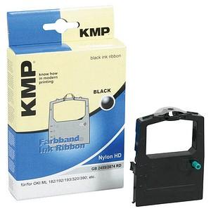 KMP schwarz Farbband ersetzt OKI ML 182/192/193/320/380/390/3320/3390