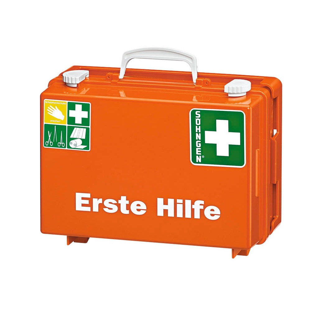 Erste Hilfe Koffer orange von SÖHNGEN